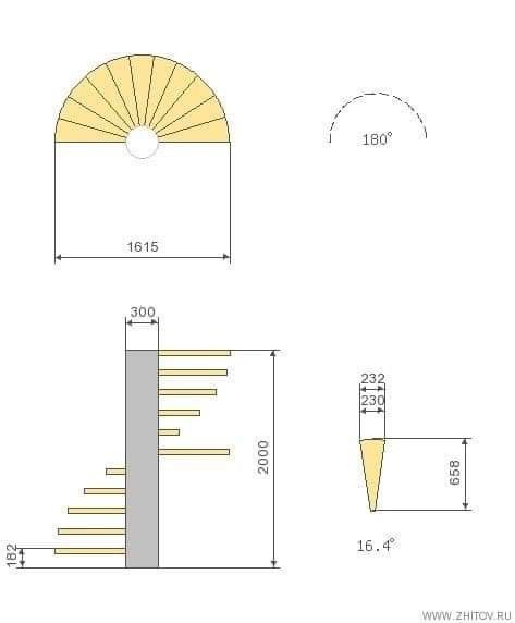 Pin By Eng Ahd Mando On All About Architecture Spiral Staircase Spiral Staircase Plan Staircase