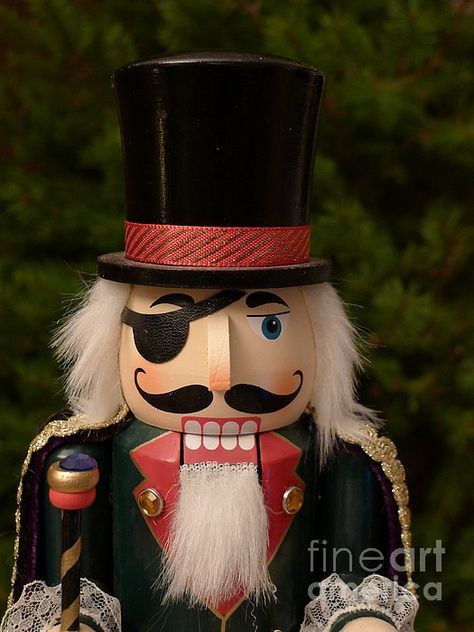 Herr Drosselmeyer Nutcracker ©Richard Reeve Photography. More available on richard-reeve.art... [Please keep original credit text when you repin] #nutcracker #drosselmeyer #xmas #tchaikovsky