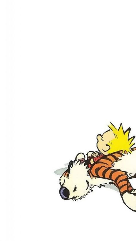 New Calvin and Hobbes iPhone Wallpaper