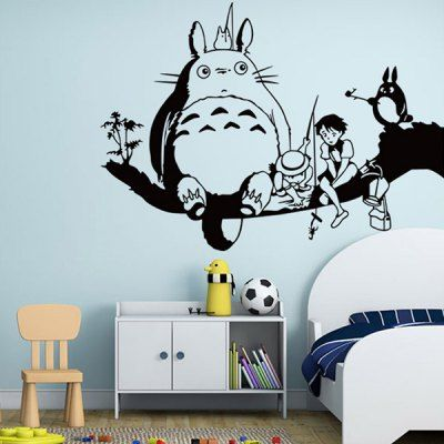 cartoon removeable decorative wall sticker | home decors | home
