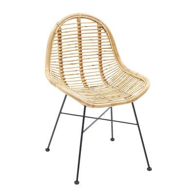Isra Natural Dining Chair Natural Dining Chairs Woven Dining