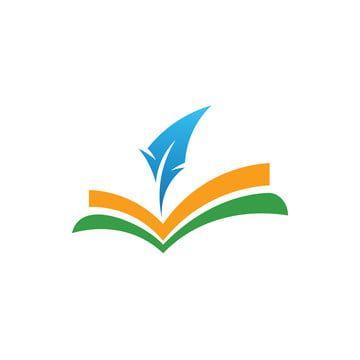 كتب الشعار Book Logo Education Logo Design Creative Books