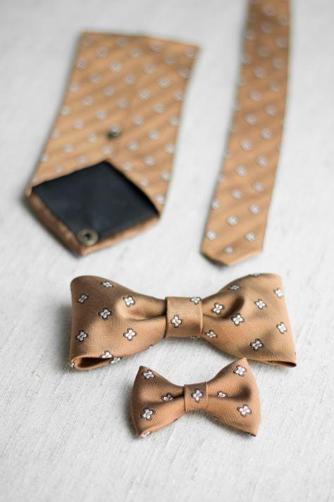 You and I ♥ DIY: Upcycling mit Herz und Hand - Krawatte zu Fliegen