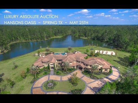 7 Acre Texas Lakefront Property For Sale In Spring Tx Estate Near Houston Youtube Lakefront Property For Sale Lakefront Property Ranch Homes For Sale