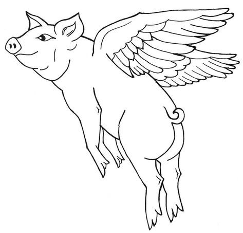 40 Pig Shape Templates Crafts Colouring Pages Animal