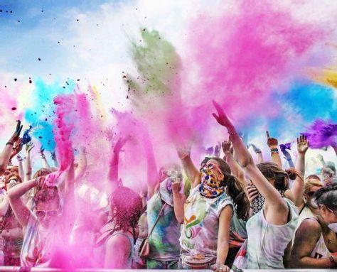 Eklat Beim Farbfestival In Deutz Holi Farbe Geht Nicht Mehr Aus