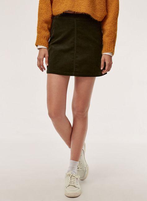 38aa256ae1 Aaliyah skirt   Bought :)   Corduroy skirt, Skirts, Mini skirts