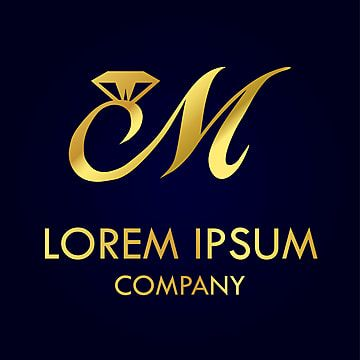 ترف شعار حرف م In 2021 Lettering Letter M Logo Logo Design Free Templates