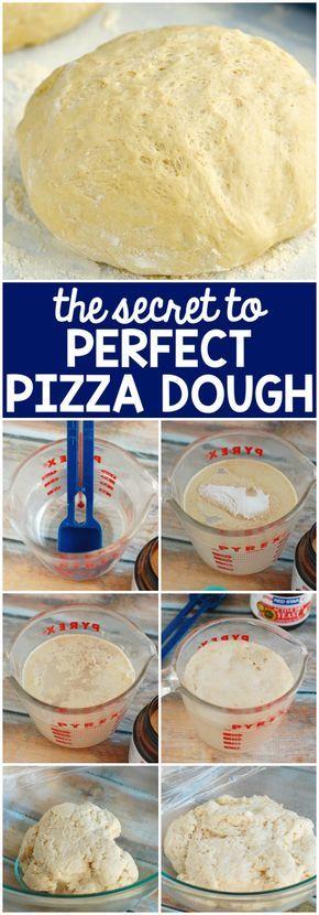 The Secret To The Perfect Pizza Dough Recipe