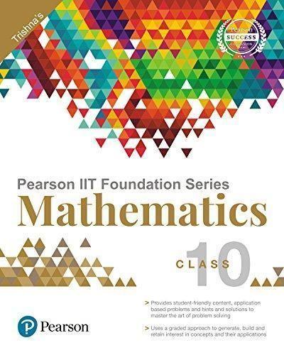 Pearson IIT Foundation Maths Class 10   Best CBSE Class 10
