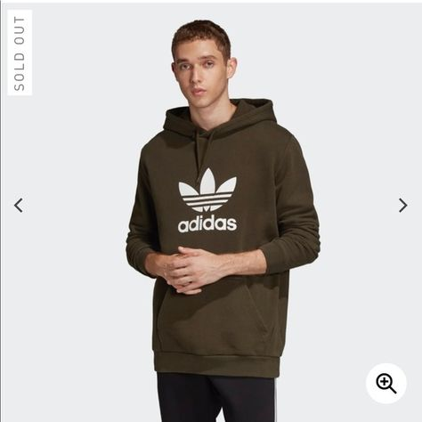 Adidas trefoil hoodie BRAND NEW The Trefoil has been