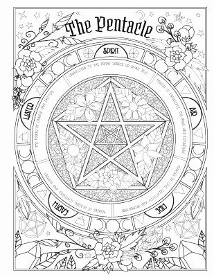 Coloring Book Of Shadows Inspirational Book Of Spells Coloring Book Set Mandala Coloring Books Stress Coloring Book