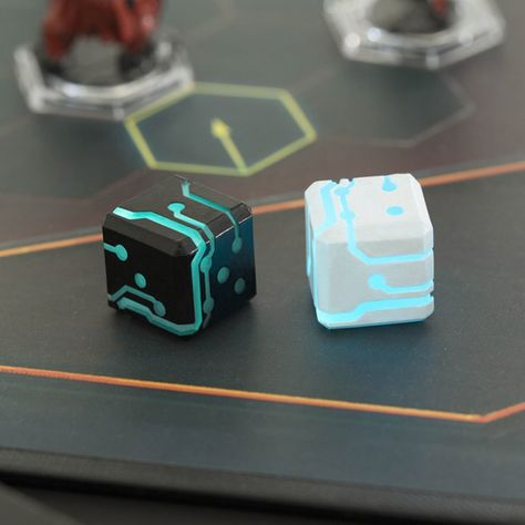 LINK STUDIO LLC is raising funds for Space Roller: The futuristic dice for your Sci-Fi games on Kickstarter! The perfect dice that cultivates your mood for futuristic RPG games like Dreadball, Star Trek or just simply roll it for fun! Futuristic Technology, Technology Gadgets, Technology Design, Spy Gadgets, High Tech Gadgets, Electronics Gadgets, Sci Fi Games, Cool Inventions, Dungeons And Dragons