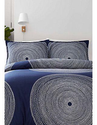 Marimekko Fokus Navy Bedding Collection Navy Comforter Sets Comforter Sets Navy Bedding