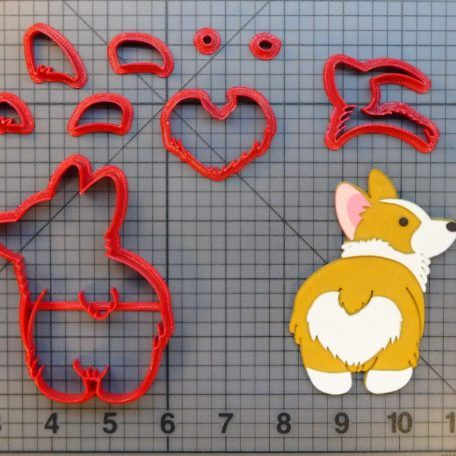 Clubhouse Character 266-B034 Cookie Cutter Set