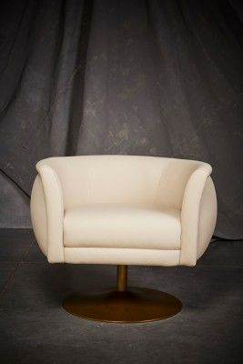 American Leather Accent Chair Korin On Display Custom Made