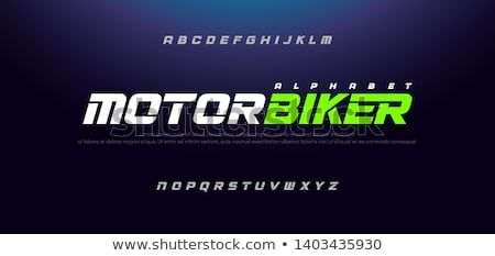Sport Modern Italic Alphabet Font Typography Urban Style Fonts For Technology Sport Motorcycle Racing L Typography Fonts Alphabet Fonts Alphabet Typography