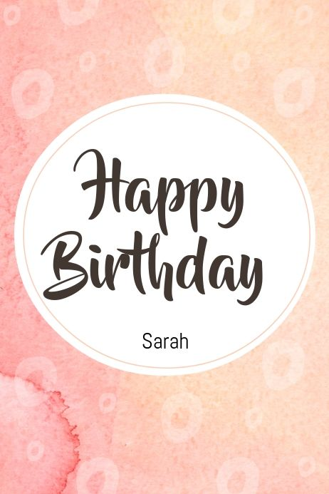 Birthday Card Template Happy Birthday Posters Birthday Poster Birthday Card Template