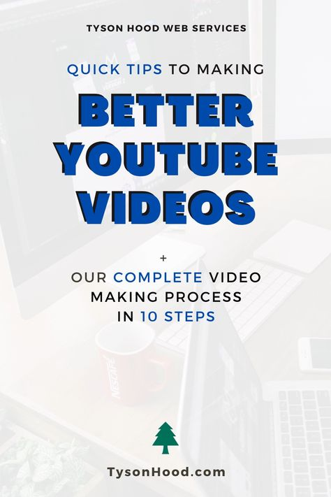 Complete Video Making Process in 10 Steps + Quick Tips to Make Better YouTube Videos