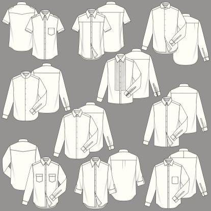 Fully Editable Men S Shirt Fashion Illustration Templates 10 Fashion Illustration Template Shirt Illustration Mens Fashion Illustration