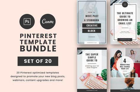 Pinterest Template Bundle