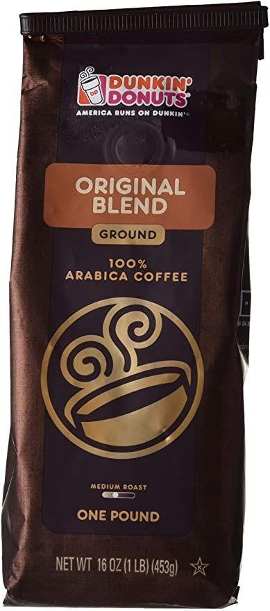 قهوة مطحونة من دانكن دونتس Coffee One Pound Coffee Bag