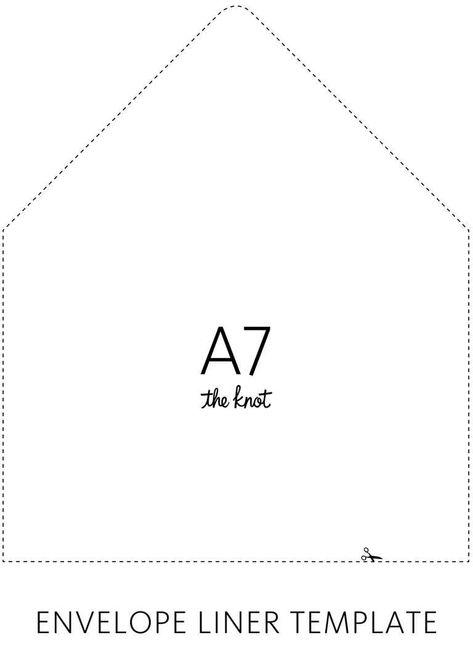Envelope Liner Template OCB Diy wedding envelope liners, Diy