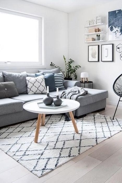 50 Amazing Comfortable Living Room Design Ideas Living Room Scandinavian Small Living Room Decor Living Room Grey