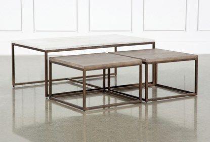 Nate Berkus Gold Coffee Table.Pavilion Nesting Coffee Tables By Nate Berkus And Jeremiah Brent In