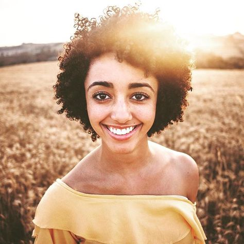 naturalhairstyles The shrinkage is real, I love...