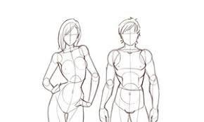 مجسمات انمي رسم بحث Google Drawings Art Female Sketch