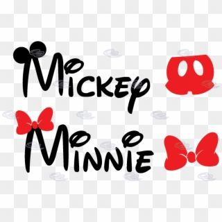 Mickey Mouse Ears Svg Letters Mickey And Minnie Mouse Name Hd Png Download Minnie Mouse Font Mickey Mouse Ears Minnie