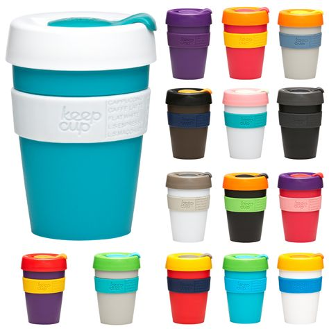 Keep Cups. I bought a grey and green one in Reykjavik to use at school :)