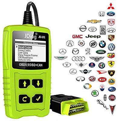 Amazon com: JDiag OBD2 Scanner Car Engine Code Reader OBD