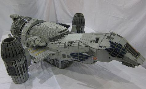 LEGO Serenity - 7 feet long