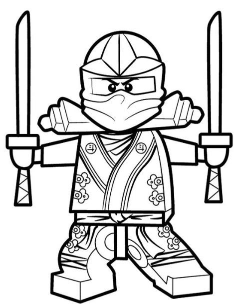 Lego Ninja Coloring Page Lego Coloring Pages Ninjago Coloring Pages Lego Coloring