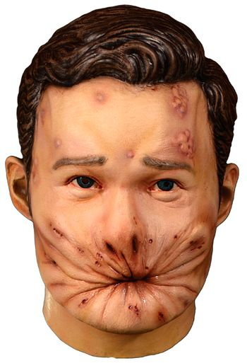 Trick Or Treat Preacher Arse Face Hell Adult Halloween Costume Mask TTAMC125