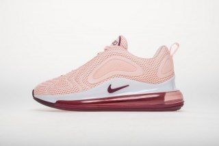 Womens Nike Air Max 720 Running Shoes Pink Rose AO2924 063