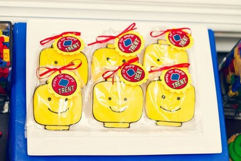 "Photo 10 of 12: Lego Inspired / Birthday ""Lego Inspired""   Catch My Party"