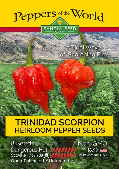 Trinidad Scorpion Pepper Seeds