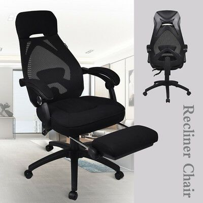 Executive Mesh Back Office Chair Racing Style Computer Desk Task