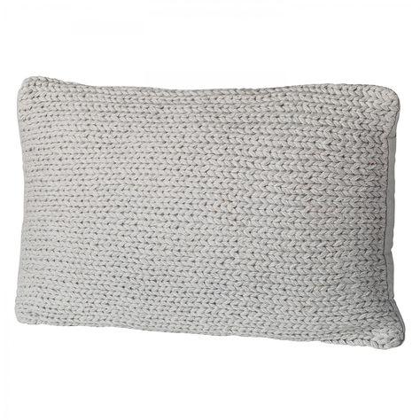 Kissen Falaise Grau Kissen Wolle Kaufen Und Grau