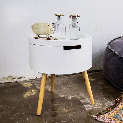 Small Round Table Storage House Sofa Side Table Simple Round Small Corner Several Living Room Telephone Table With Storgage Simple Side Tables Sofa Side Table Side Table