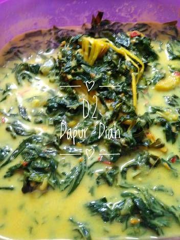Resep Daun Singkong Kuah Santan Oleh Sadiah Nuraini Resep Makanan Dan Minuman Resep Masakan Resep