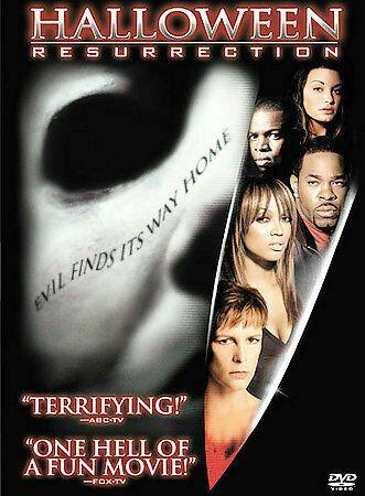 Halloween 2020 Dvd Jamie Lee Curtis Halloween: Resurrection (DVD, 2002) Jamie Lee Curtis, Busta Rhymes