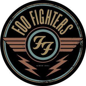 Foo Fighters - Round Logo Sticker