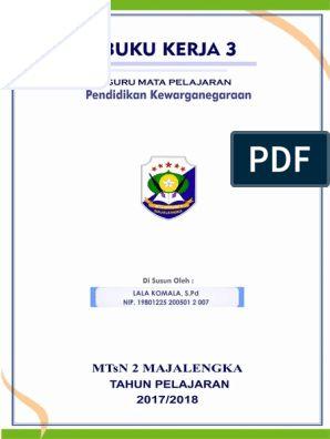 Buku Kerja 3 2017 Mgmp Pkn Ok Microsoft Excel Education Excel