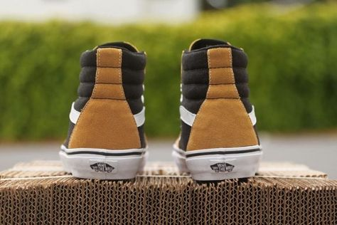 9e5adabbe125b1 Vans Sk8-Hi Suede  Honey Mustard  - SneakerNews.com