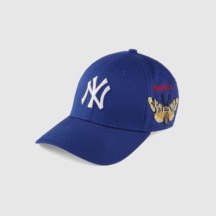 cheap for discount be2f7 77c33 BUYMA|新作☆GUCCIグッチ☆NY Yankees patch キャップ 蝶々/ 4 ...