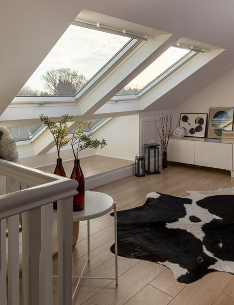 Velux Loft Conversion Of The Year Runner Up Emer In Dublin In 2020 Terraced House Loft Conversion Loft Conversion Loft Conversion Bedroom